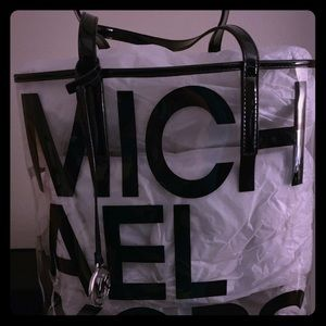 Michael Kors Bag (transparent) and never used